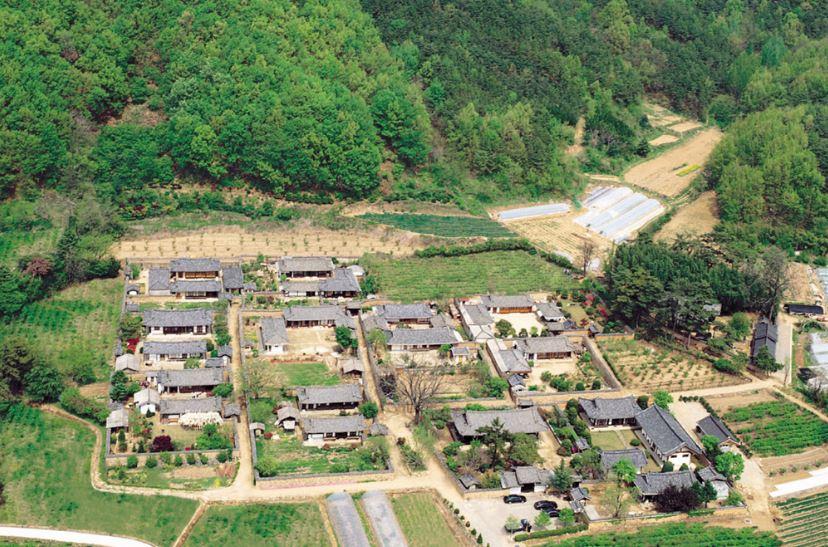 [남평문씨본리세거지] 안목과 경제력이 갖추어진 마을